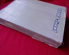 1988 Hyundai Excel / Pony FACTORY WORKSHOP / SERVICE, REPAIR MANUAL, book