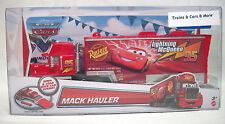 """Disney Pixar CARS Mattel MACK HAULER #95 """"LIGHTNING McQUEEN'S TRUCK"""" New in Pack"""