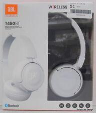 *NEW SEALED*JBL T450BT Wireless On-Ear Headphones, White