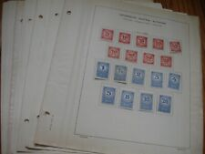 Austria, Classic Miint&Used Stamps Collection on 30 Pages. Ol21