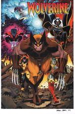 Arthur Adams SIGNED Marvel Comics X-Men Super Hero Art Print ~ Wolverine Storm