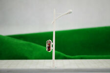 1:87 Ho White Single Light Cap Billboard Lamppost Street Light (6V) Rc100 10pcs