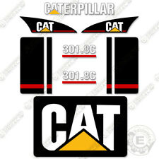Caterpillar 301.8C Mini Excavator Decal Kit Equipment Decals (301.8 C)