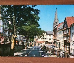 Ansichtskarte Marburg an der Lahn, Steinweg