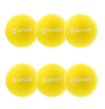 "Get Out™ 6"" Inch Soft Latex-Free Foam Dodgeball Balls 6-Pack Set in Yellow"