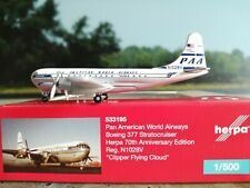 1:500 Herpa Wings 533195 Pan American World Airways Boeing 377 Stratocruiser - H