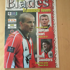 Sheffield United v Tranmere Rovers 1998/99 - Division un programme