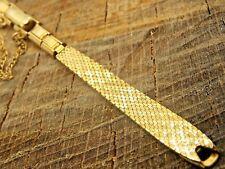 NOS Ladies Vintage Watch Band Kreisler Gold Filled Butterfly Clasp C-Ring Unused