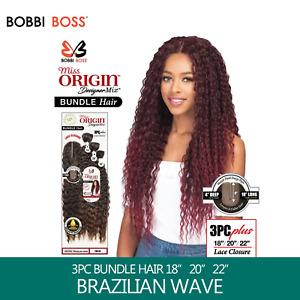 Bobbi Boss Miss Origin Designer Mix 12A Weave Bundle - NATURAL BRAZILIAN