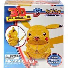 Pokemon Pikachu 3D Crystal Puzzle