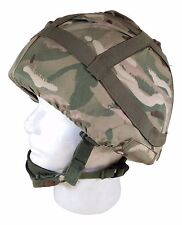 British MK6 Ballistic Nylon Kevlar Helmet-Large (58-60 CM) W/ MTP Camo Cover