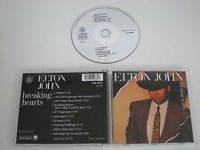 ELTON JOHN/BREAKING HEARTS(THE ROCKET RECORD COMPANY 822 088-2) CD ALBUM