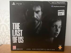 The Last Of Us Joel Collector's Edition Playstation 3 RARO