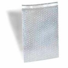 """Polyair 4""""x5.5"""" Bubble Pouches Protective Wrap Bags EZ Self Seal Case Box 1500"""