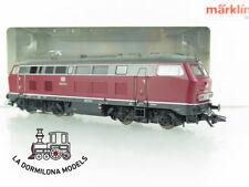 CS19 ~AC DIGITAL mfx MÄRKLIN 39181 DIESELLOKOMOTIVE BR 218 215-2 der DB - OVP