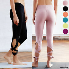Fashion Women YOGA Workout Pants Gym Sport Legging Fitness Stretchy Trouser S306