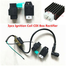 3x Racing Ignition Coil CDI Box Rectifier For Honda XR CRF 50 70 90 110 125 cc