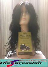 RUSH 100% REAL Brasiliano Virgin Remi non trasformati Naturale Parrucca Di Capelli Umani Ricci-UK