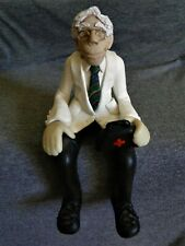 Clay Shelf Sitter Wise Doctor D. Manning Limited Edition