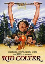 KID COLTER (1984 Jim Stafford)  - Region Free DVD - Sealed