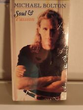 NEW SEALED: RARE VHS Michael Bolton- SOUL & PASSION CONCERT MUSIC VIDEO