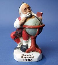 Norman Rockwell Christmas Ornament 1980 Santa's Good Boys Saturday Evening Post