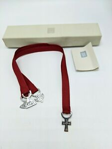 James Avery Sterling Silver Cross Trinity Dove Fish Red 3 Ribbon Bible Bookmark