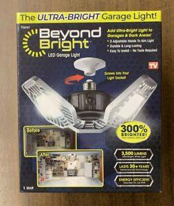 Beyond Bright BEBR-MC LED Ultra-Bright Garage Light - White (New) Free Shipping