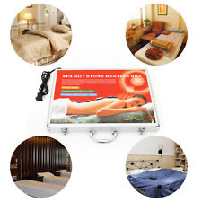 Electric Spa Massage Heating Case Hot Stones Heating Box for Spa Rock Stone 110V