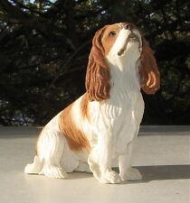 Vintage Cavalier King Charles Spaniel Sitting Figurine