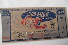 INDY 500__1941__Original__TICKET STUB__EX___Indianapolis 500