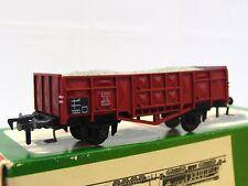 Fleischmann H0 1455 off. Güterwagen m. Ladung Ommu DB OVP (TR8645)