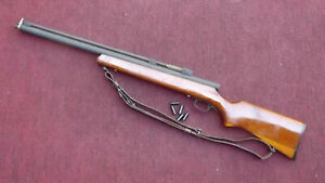 YE WHA 25 cal air shotgun with sling pumps and fires very well