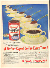 1953 Vintage ad for G. Washington Instant Coffee`Cup Spoons  Photo  (092116)