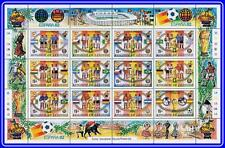 LESOTHO 1982 FOOTBALL CUP  M/S (folded)  MNH SOCCER, SPORTS