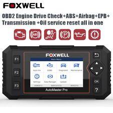 Foxwell 614 Elite OBD2 ABS SRS Car Diagnostic Scanner EPB Oil Reset Code Reader