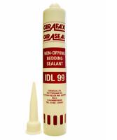 CARAFAX IDL99 WHITE (110) Non-Drying Bedding Sealant, 380ml Cartridge