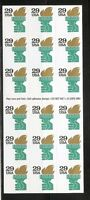 US SC # 2531Ab Liberty Torch. Complete Booklet Unfolded. MNH