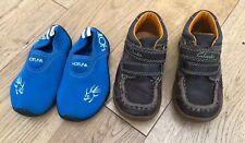 Boys Bundle Of Shoes Size 4.5 Infant Clark's Hot Tuna <D1430