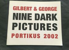 Gilbert & George - Nine Dead Pictures - Portikus 2002 - Exhibition Catalog