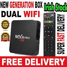 MXQ PRO !! DUAL WIFI !! Android Box Smart TV Media Streamer Player Audio Remote
