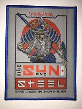 Iron Maiden Trooper Samurai patch Blue