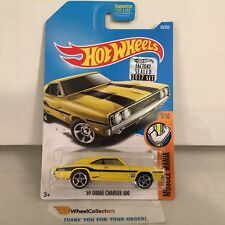 '69 Dodge Charger 500 #95 * Yellow * 2017 Hot Wheels FACTORY SET