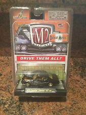 1970 Chevrolet Chevelle SS Chase Car M2 Machines 1:64 In Black/ Flames