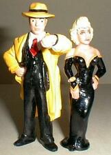 DICK TRACY & BREATHLESS MAHONEY MADONNA 2 PVC FIGURES
