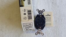 Leviton 20A Locking Outlet Receptacle 2310 Black