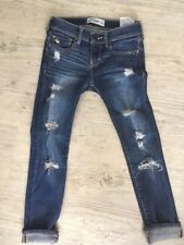Jeans Fille ABERCROMBIE 7/8 10-12 Ans État Neuf