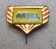 Badge embleme ARIEL Vintage Pins Moto Motorcycles UK 1960