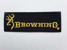 BROWNING SHOOTING CARP FLYGAME FISHING SPORT EMBROIDERED QUALITY PATCH UK SELLER