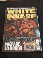 White Dwarf #356 Spacehulk, IG Heroes of Catachan Rules, Warhammer Wagh Azhag
